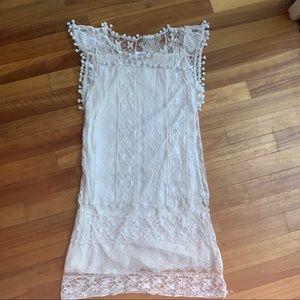 L❤️show girls boho lace dress